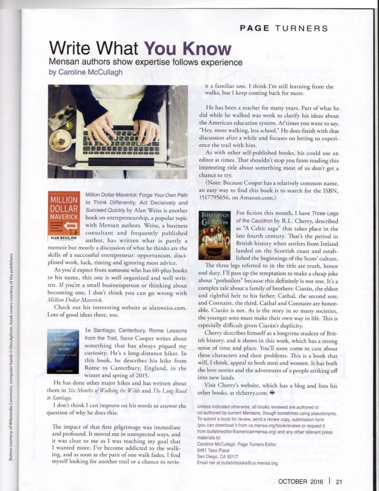 American Mensa Bulleting review