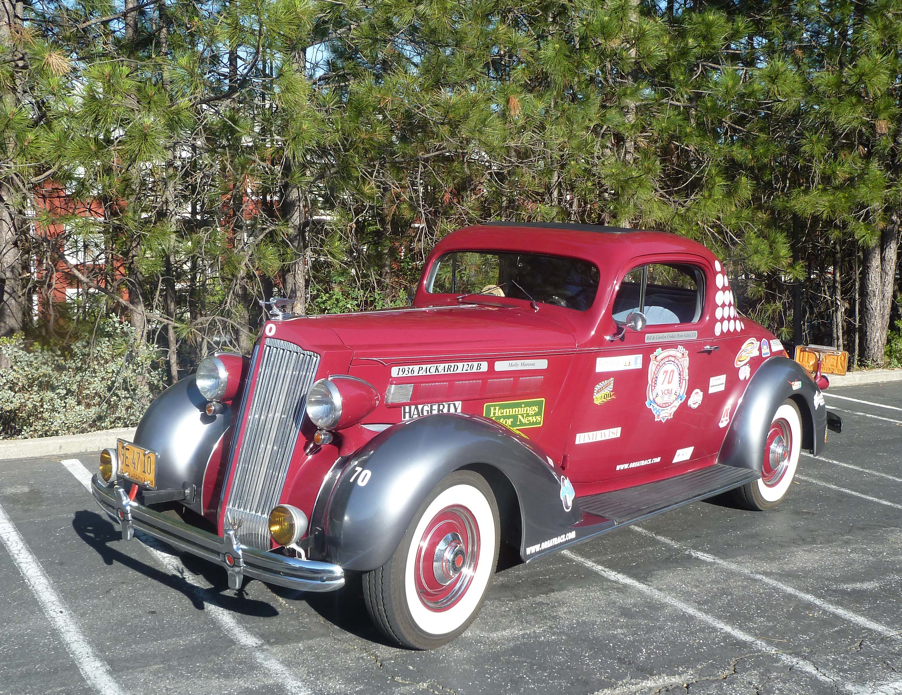 Classic cars and hot rod articles from The Union, Grass ValleyRLCherry