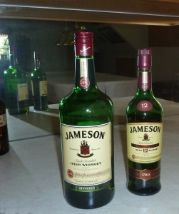 Jameson Whiskey and Jameson 12 yr old