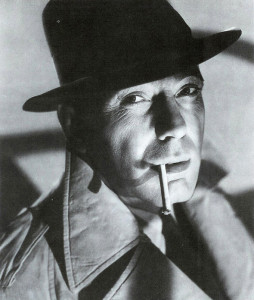 The classic Bogart as Sam Spade