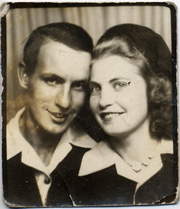 Earl Owen and his fiance in happier times