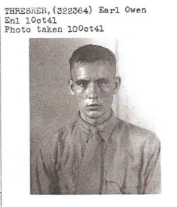 Earl Owen's enlistment picture