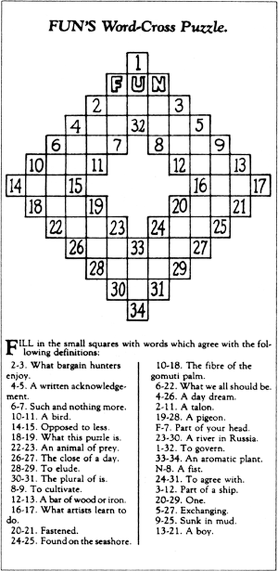 The Mother Of All Addictions Crossword That It December 13 1913