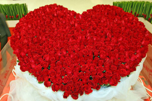 Over-the-top Red Roses