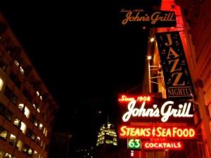 John's Grill on Ellis Street