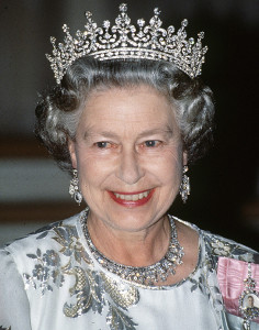 Queen Elizabeth II, the Lord of Mann