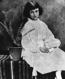 Alice Liddell at 8 years old July 1860