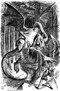 Jabberwocky. The stuff that fantasy is made of.