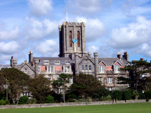 King William's College on the Isle of Man, where my daughter attended.