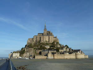 Mont Ste Michel- stunning place, but lousy food in the village