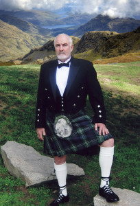 James Bond in a Kilt. No one to mess with.