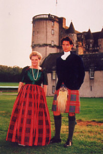 Lady Saltoun, chief of the name Fraser and Lord Lovat, chief of the Lovat Frasers