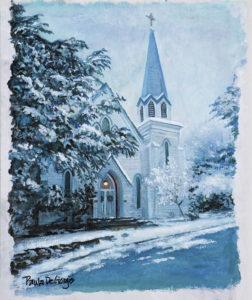 St. Nicholas of Myrna, Father Robert Bruce's church
