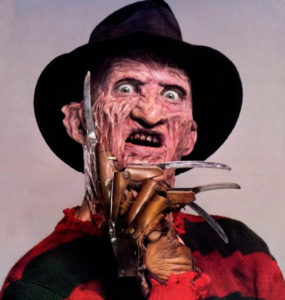 Freddy Kruger, not my kind of guy.