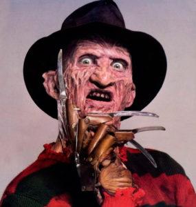 Freddy Kruger, not my kind of guy.