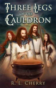 THREE LEGS OF THE CAULDRON - cover test